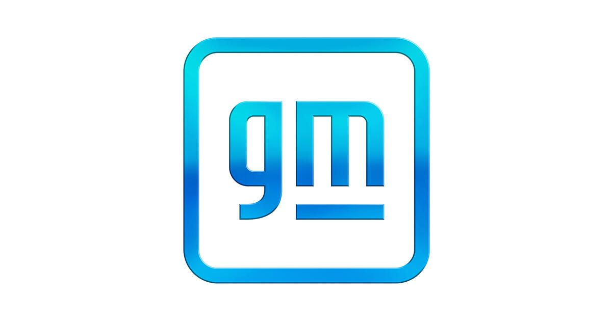 General Motors unveils a new logo as the automaker looks to its electric future
