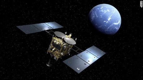 A missão Hayabusa2 confirma o retorno de uma amostra do asteróide, incluindo gás, à Terra