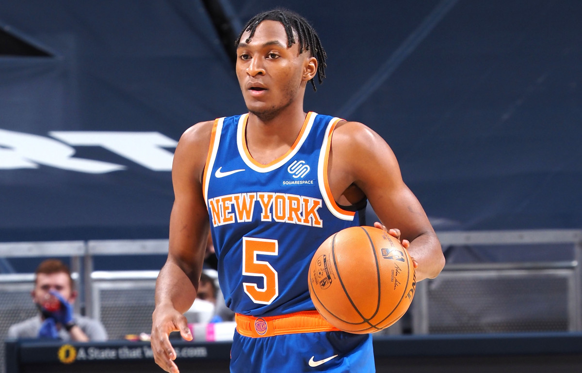Emmanuel Quickley leaves an immediate impact in returning to the Knicks lineup