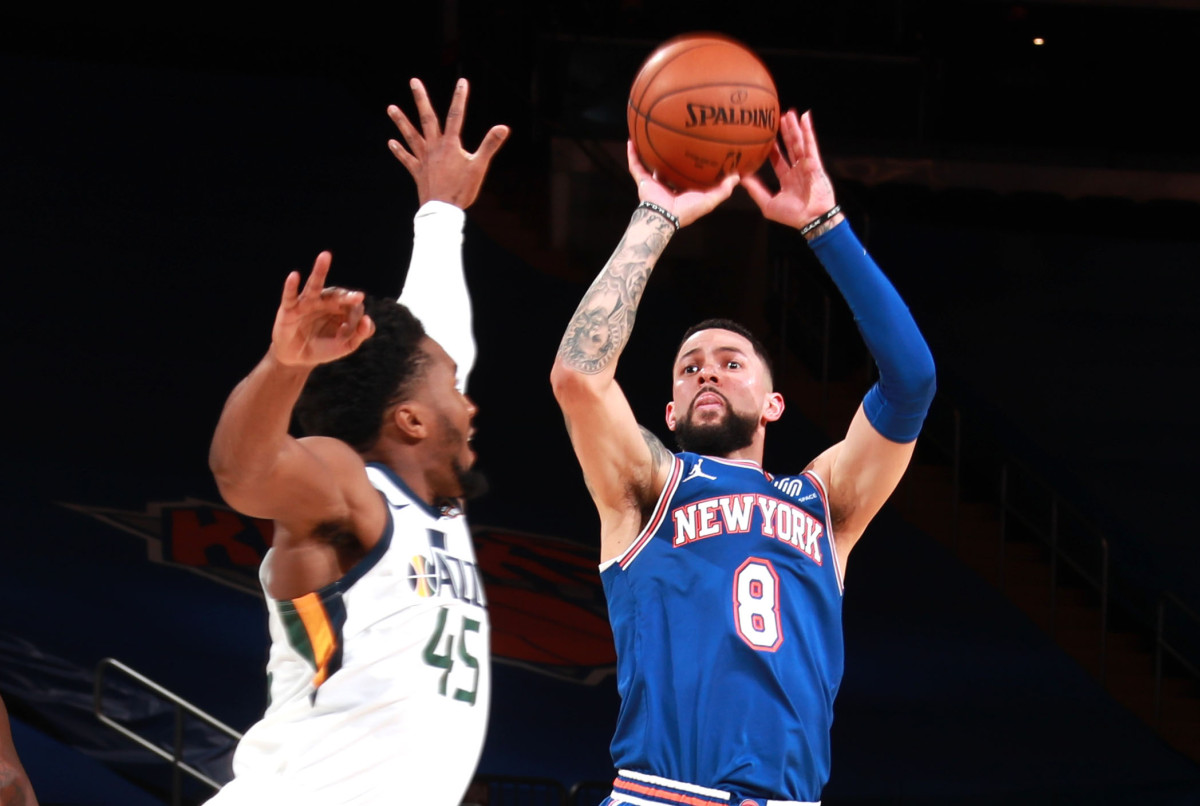 The crazy 3-point boom pushed into the Austin Knicks