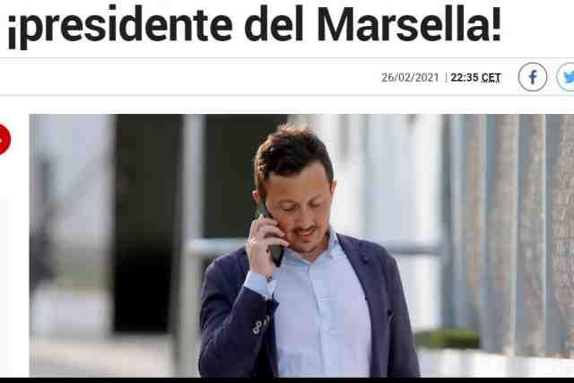 """Na imprensa espanhola, """"surpreende"""" Pablo Longoria, o novo chefe da OM"""