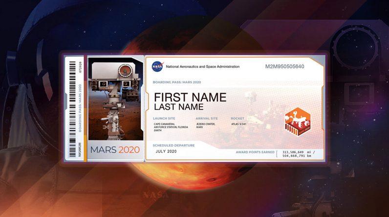 Quase 11 milhões de nomes de terráqueos existem em Marte - Programa de Exploração de Marte da NASA