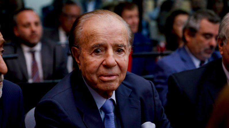 Três dias de luto nacional pela morte do ex-presidente argentino Carlos Menem