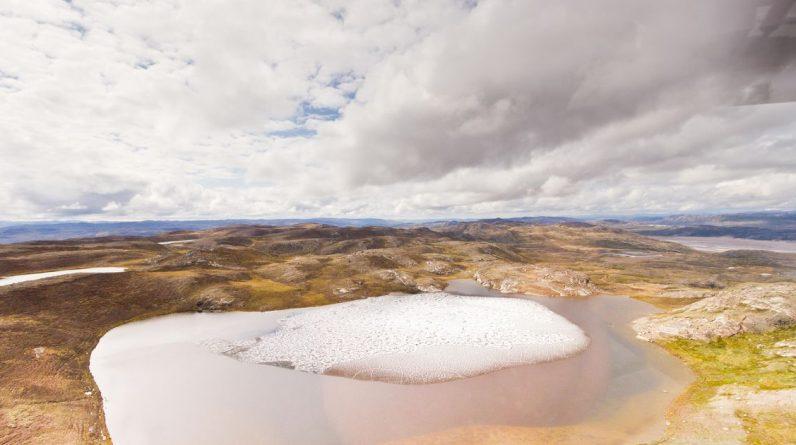 Os cientistas ficaram surpresos com os fósseis encontrados nas profundezas da camada de gelo da Groenlândia
