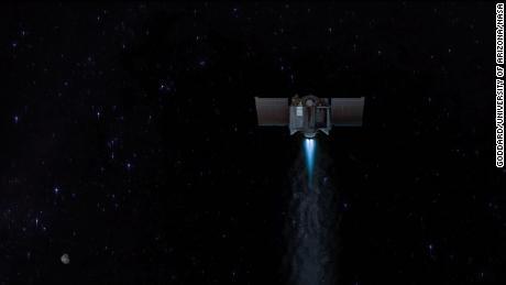 A missão da NASA irá aumentar o zoom com um asteróide antes de retornar uma amostra para a Terra