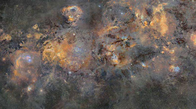 A belíssima imagem da Via Láctea levou 12 anos para ser concluída