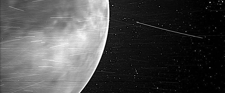 A nave espacial mais rápida já passou por Vênus, enviando um incrível cartão-postal