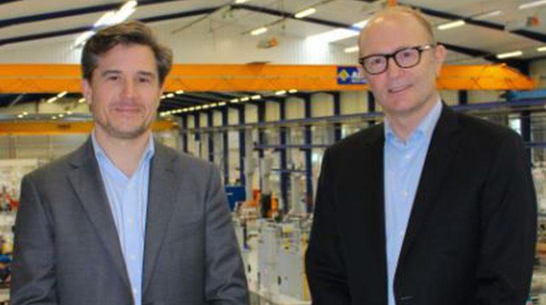 Charles de Forges, nommé directeur général de Sepro group, aux côtés d'Eric Radat, président du groupe.