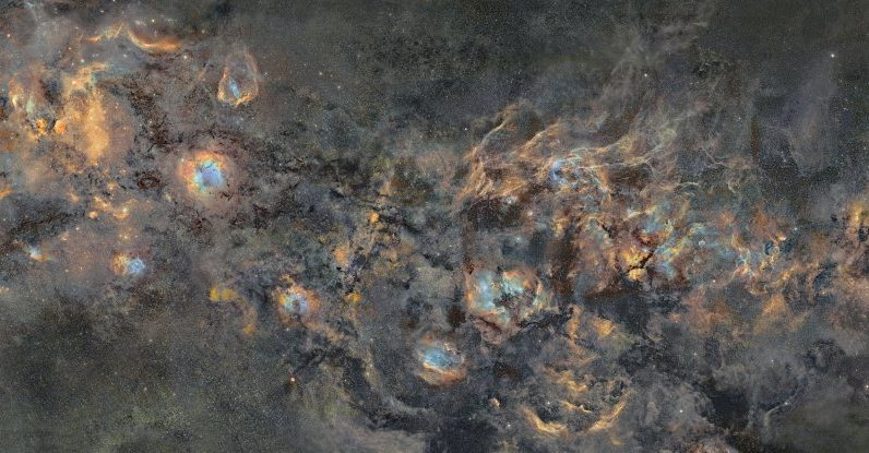 Um fotógrafo que passou 12 anos fazendo uma imagem da Via Láctea.  Vai esmagar seu coraçãozinho