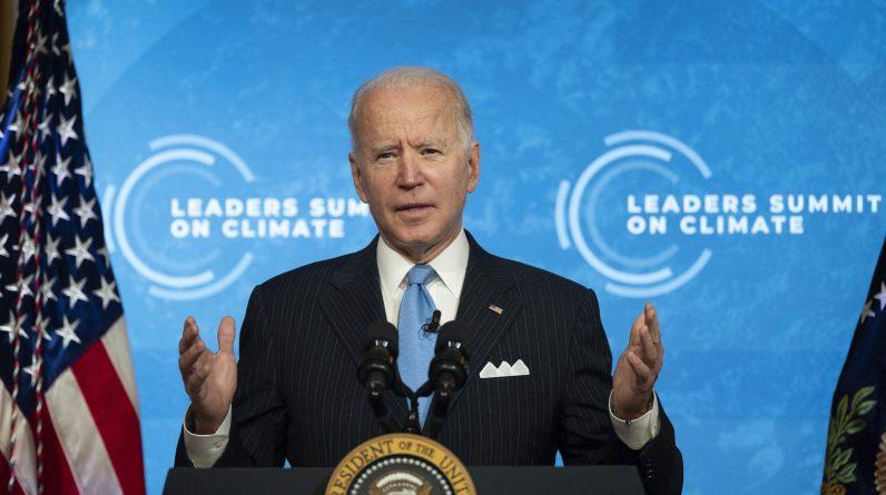 Trechos da cúpula do clima organizada por Joe Biden