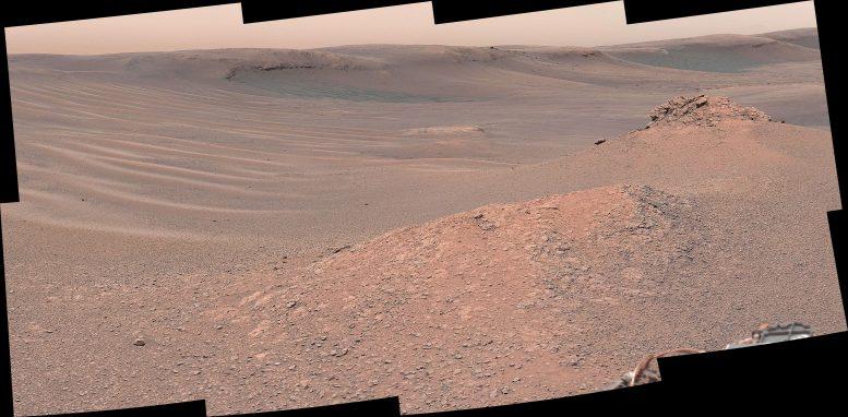 Mars Knockfarril Hill NASA Curiosity Rover