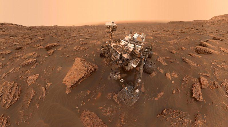O Curiosity Mars Rover da NASA revela uma nova compreensão do registro de rochas e evidências de possíveis sinais de vida antiga