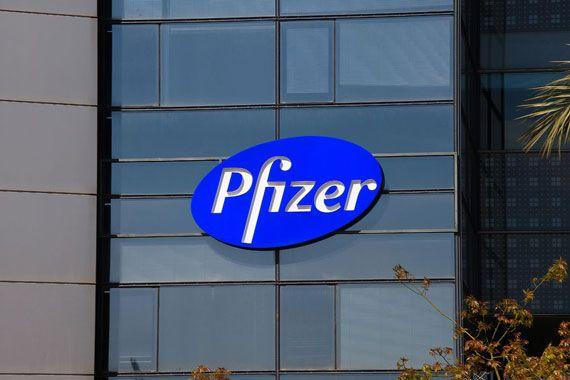 Le logo de Pfizer