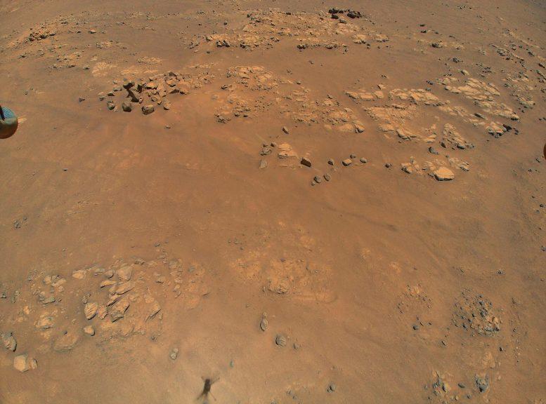 Elevou as bordas de Marte