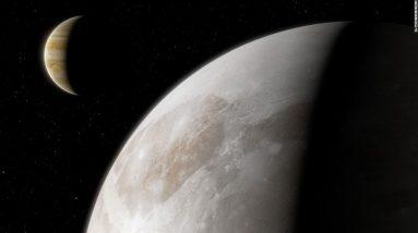 Hubble encontra vapor de água em torno da lua de Júpiter, Ganimedes