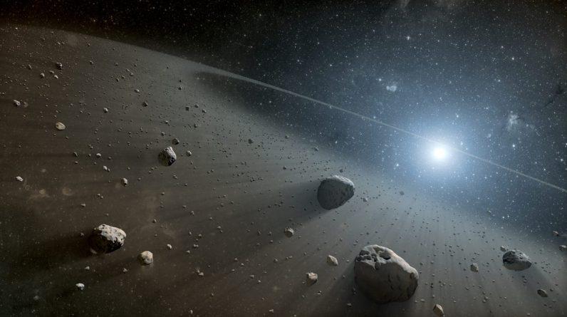 Astrônomos descobriram dois objetos vermelhos incomuns no cinturão de asteróides