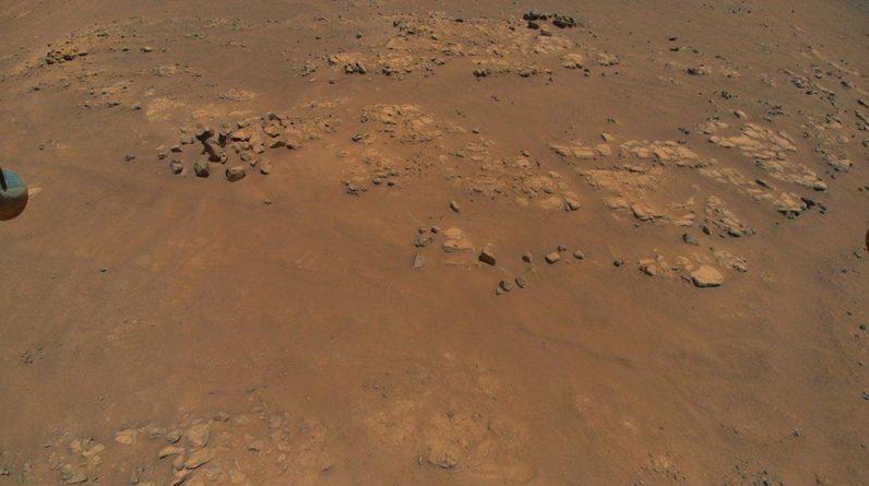 Com o décimo vôo, a criatividade voou mais de uma milha na superfície de Marte