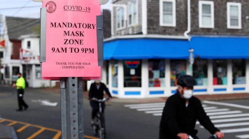 Provincetown emite diretrizes de máscara facial após novo surto de COVID