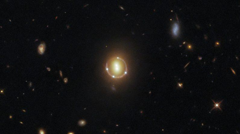 Hubble captura o 'anel de Einstein'