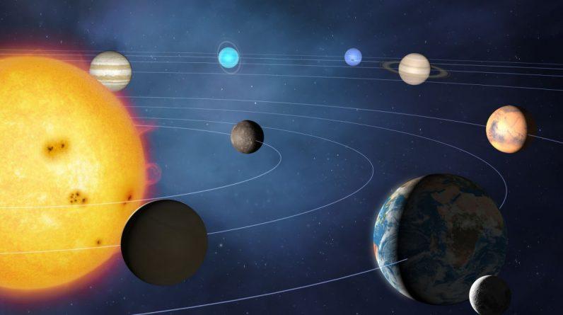 Como é a borda do sistema solar?