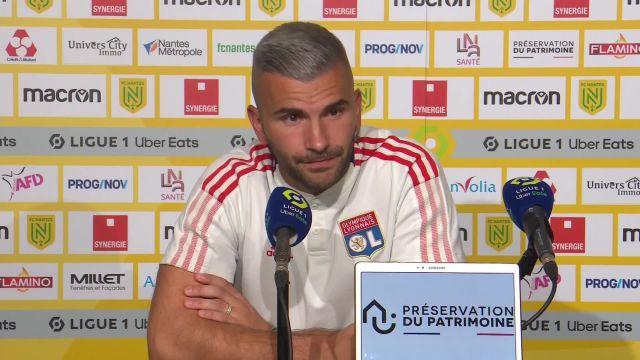 Ligue 1: OL ganha sua primeira vitória dolorosa contra o Nantes