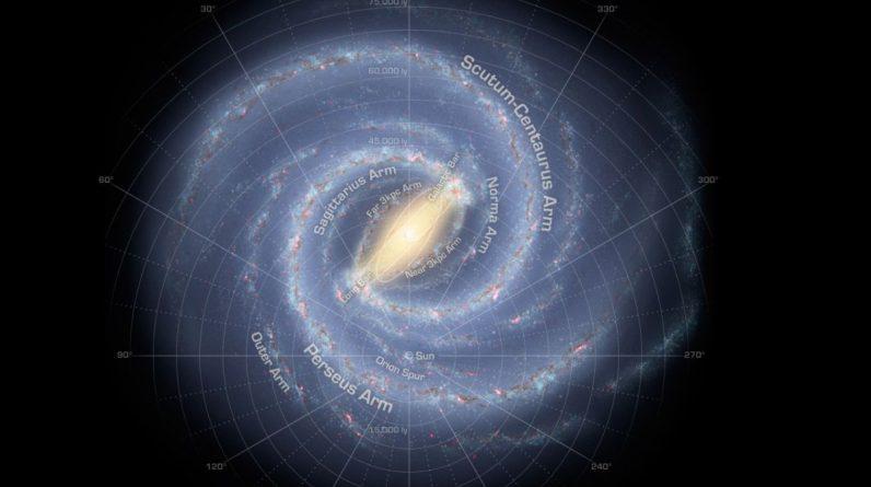 Um objeto misterioso no espaço pode ser um novo braço da Via Láctea