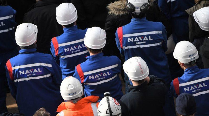 Les salariés de Naval Group s