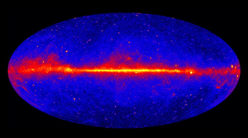 Mistério de raios gama do 'céu vazio' resolvido - pode levar os astrofísicos a desvendar a matéria escura