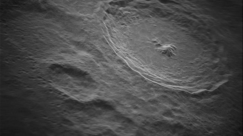 Cratera Tycho Cratera lunar revelada em detalhes intrincados - uma nova e poderosa tecnologia de radar revelará os segredos do sistema solar