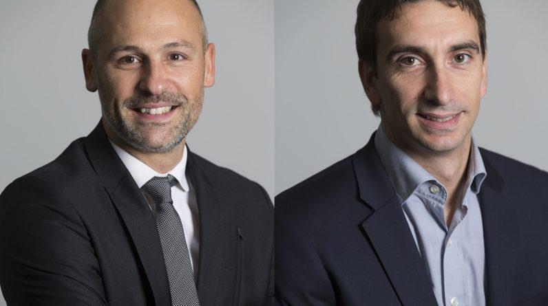 Sébastien Champion et Stéphane Lamarrigue sont nommés directeurs régionaux des ventes pour Air France - KLM - Air France