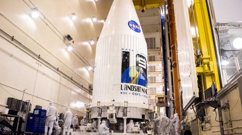 O lançamento do novo satélite Landsat 9 da NASA foi adiado devido à falta de nitrogênio líquido