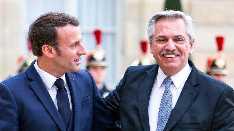 """Relógios Buenos Aires    Macron disse que a França """"continuará"""" a se opor ao acordo comercial UE-Mercosul"""
