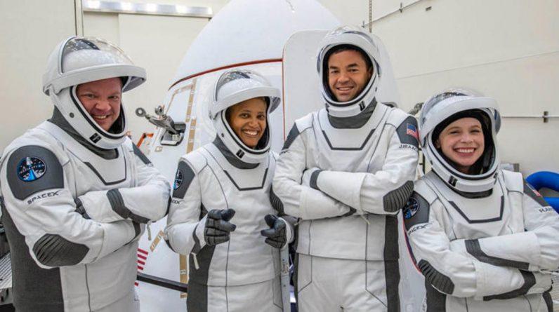 SpaceX lança uma tripulação totalmente civil em Mission Inspiration4