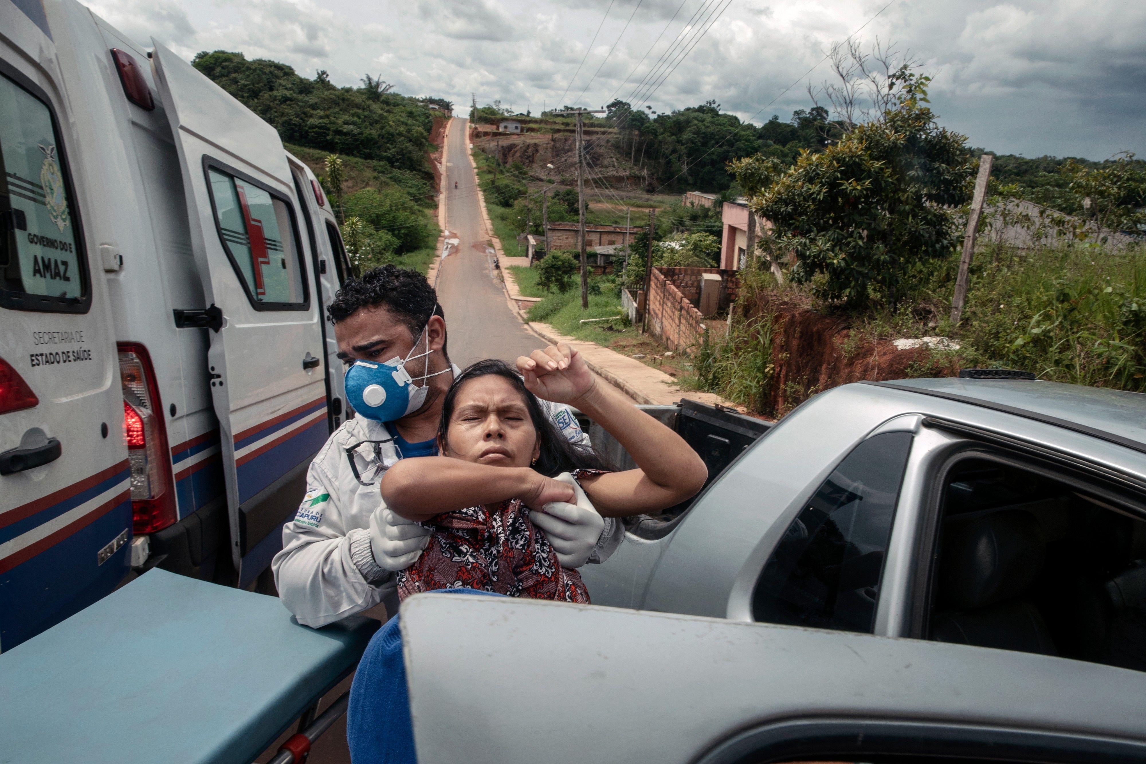 Relatório sobre a epidemia de Covid-19 na região amazônica.