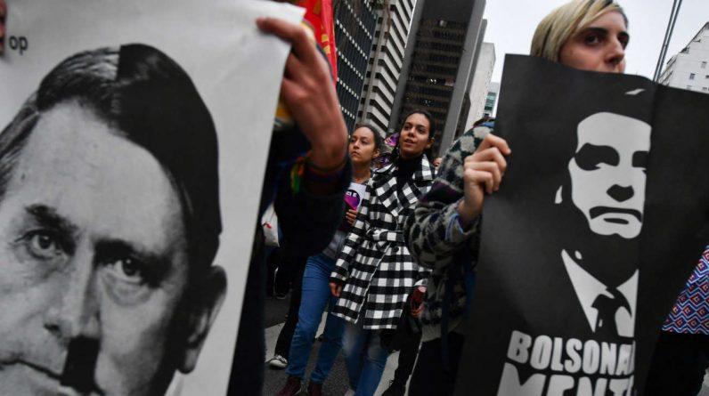 No Brasil, Jair Bolsonaro, os neonazistas estão cada vez mais visíveis e desimpedidos