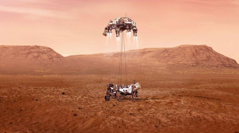O rover persistente está encontrando evidências de inundações antigas em Marte, dizem os pesquisadores