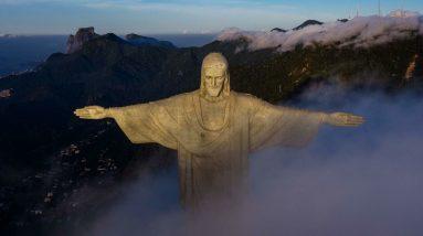 """""""Foi importante vir rezar por quem nos protege"""": Rio de Janeiro comemora 90 anos do Cristo Redentor"""