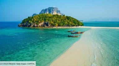 Turistas franceses bem-vindos de volta à Tailândia